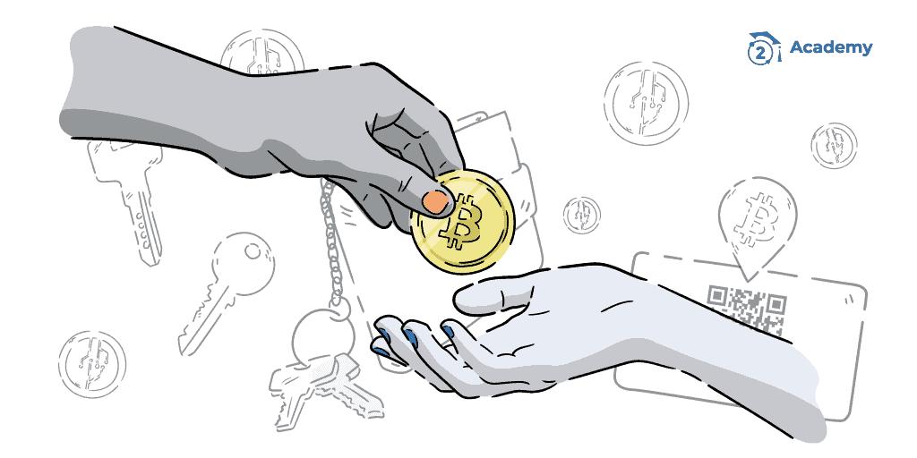 como funciona transaccion bitcoin criptomoneda blockchain