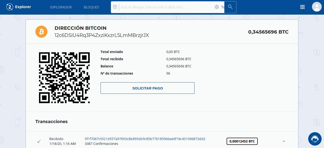 indirizzo bitcoin non valida