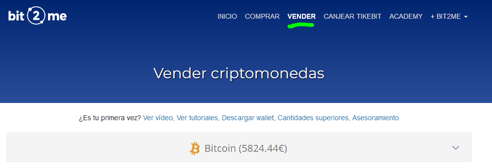 como vender bitcoins