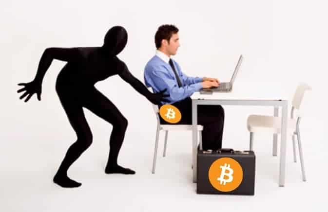 estafas en software bitcoins