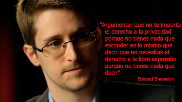 Eduard Snowden and privacy