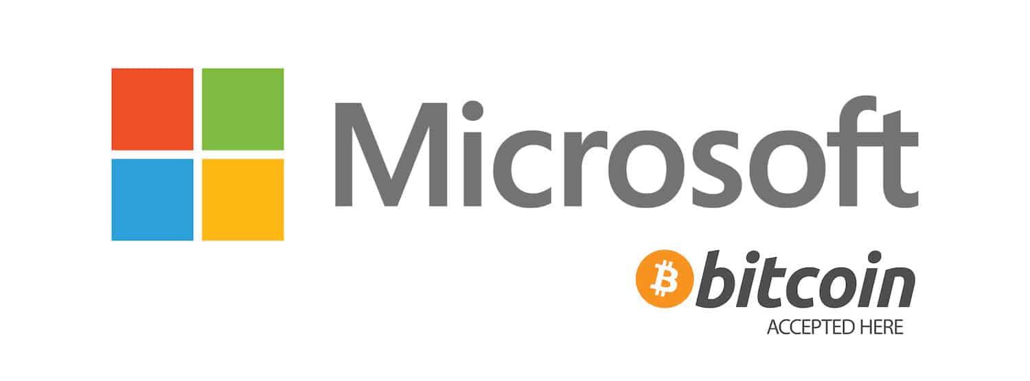 in microsoft we can buy with bitcoin