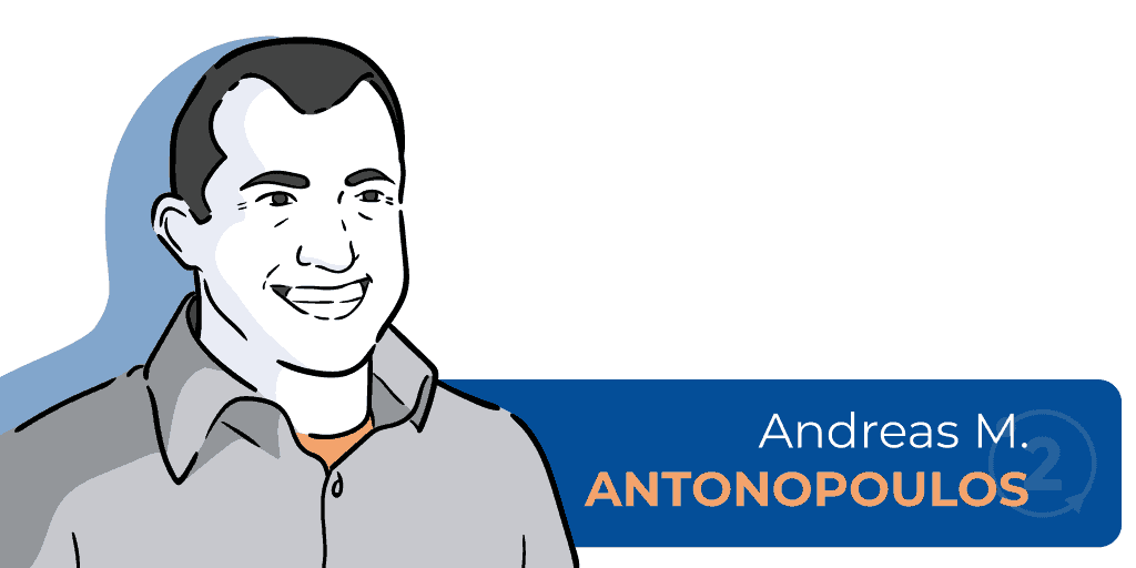 Who is Andreas Antonopoulos, bitcoin mastering writer, who is a bitcoin evangelist