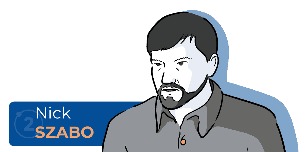 Who is Nick Szabo, who invented smart contracts, who is the creator of bitgold