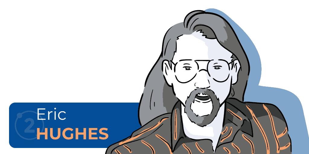 Quem é Eric Hughes, que escreveu o manifesto cypherpunk, que tornou o repostador cypherpunker