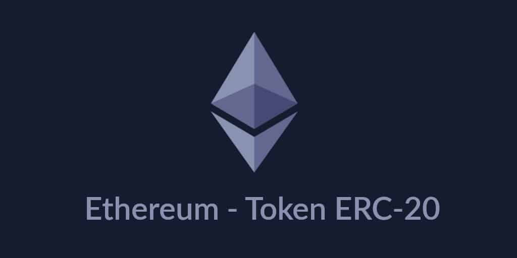 Ethereum ERC 20 tokens