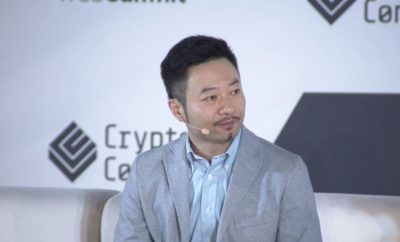 Hongfei Da founder of NEO, Hongfei Da founder of NEO talking about cryptocurrency, Hongfei Da talking about NEO