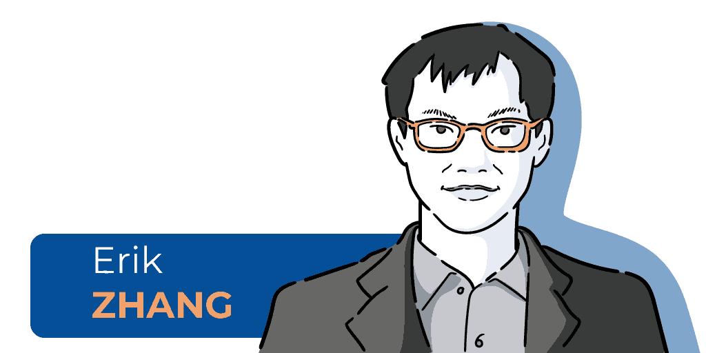 quien es Erik Zhang, biografía de Erik Zhang