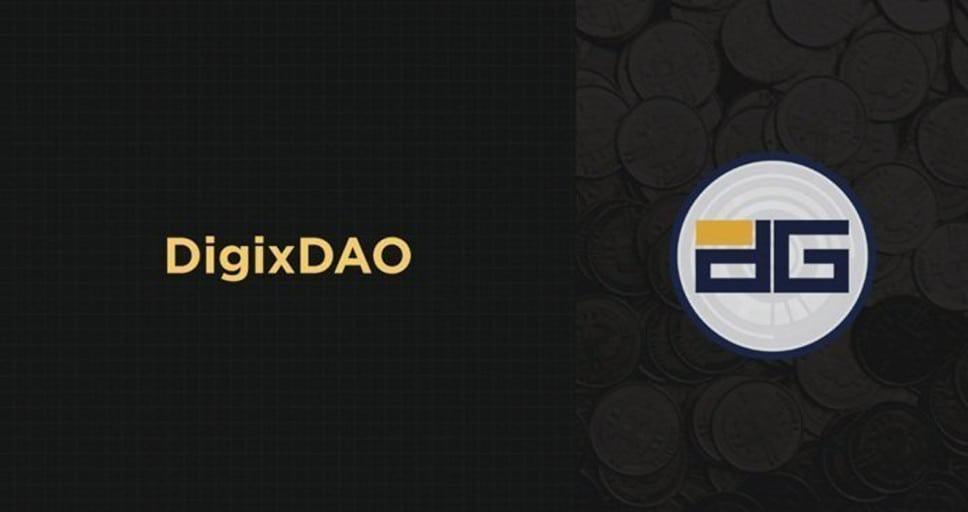 Logo de DigixDAO, DigixDAO el DAO del oro digital, DigixDAO una DAO para la gobernanza del ecosistema Digix