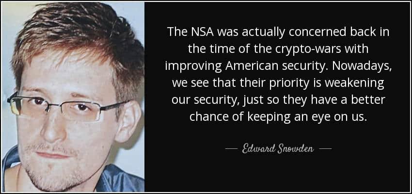 Edward Snowden habla sobre las Crypto Wars