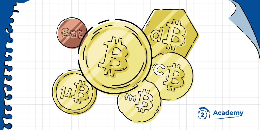 Unidades de cuenta Bitcoin, Satoshi