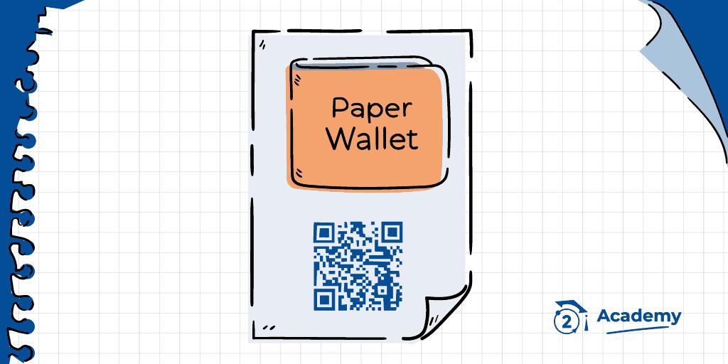 que es paper wallet criptomonedas