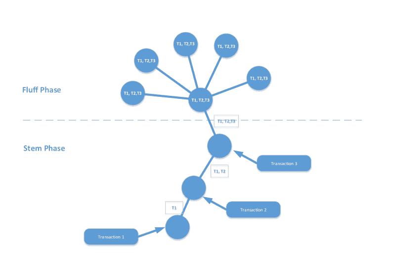 Un esquema de como funciona el Dandellion