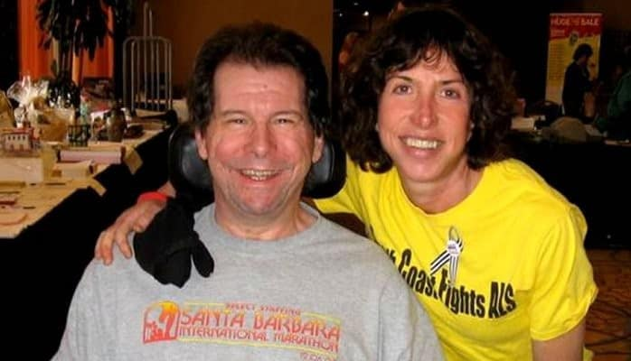 Hal Finney the author of the attack Finney with his wife