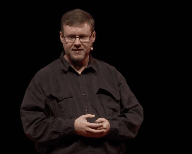 Jeff Garzik en una conferencia