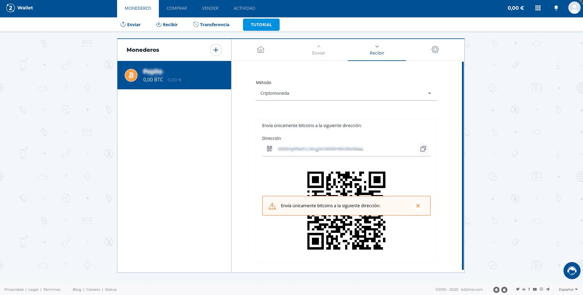 crear-direccion-bit2me-wallet