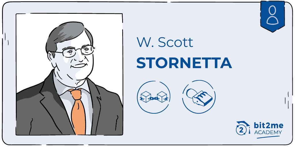 Chi è Scott Stornetta