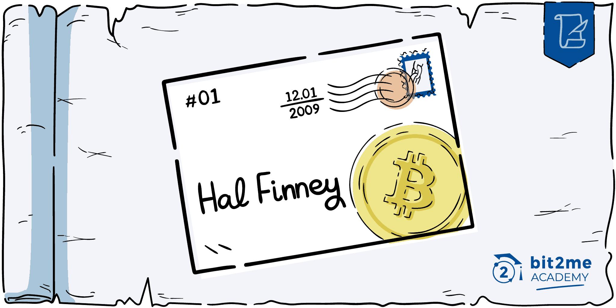 Primera transacción bitcoin hal finney satoshi nakamoto