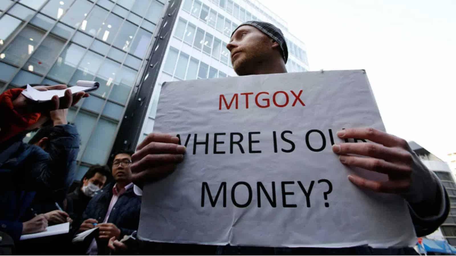 Mt Gox y su estafa llevo a muchas personas a protestar para recuperar su dinero