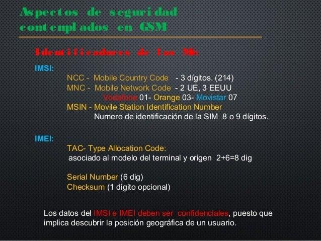 Checksum aplicado en telefonos GSM