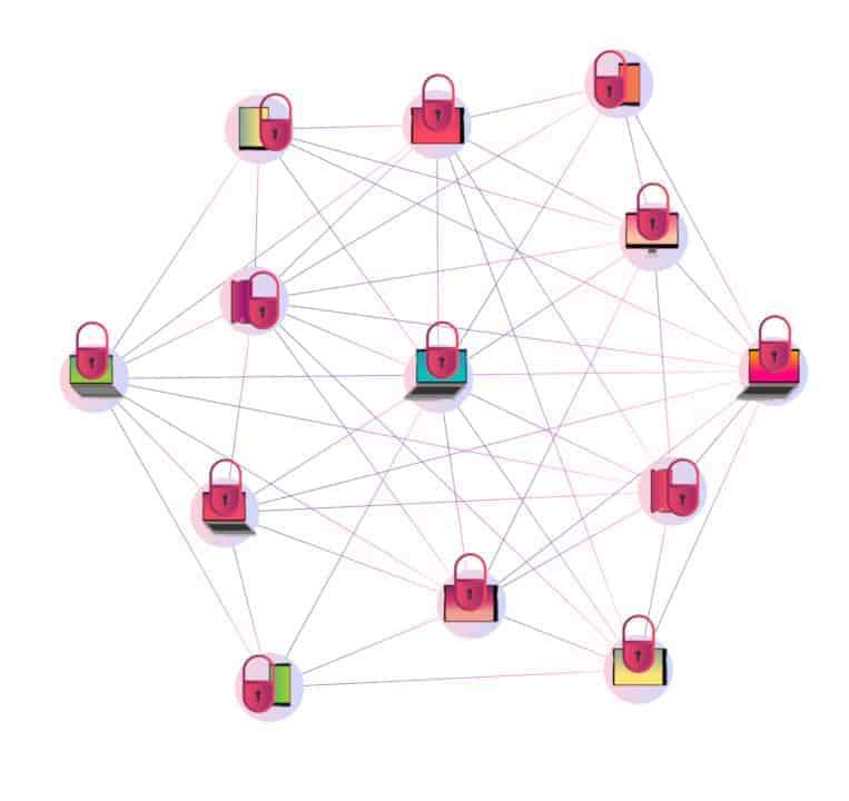 Rede de nós em um sistema P2P