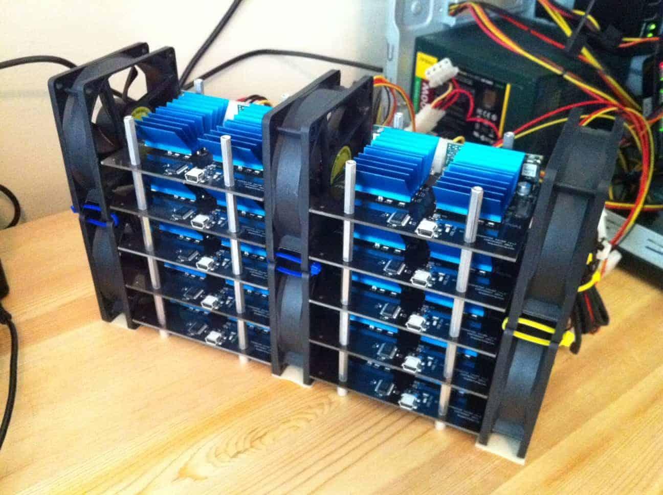 FPGA mining rig para Bitcoin
