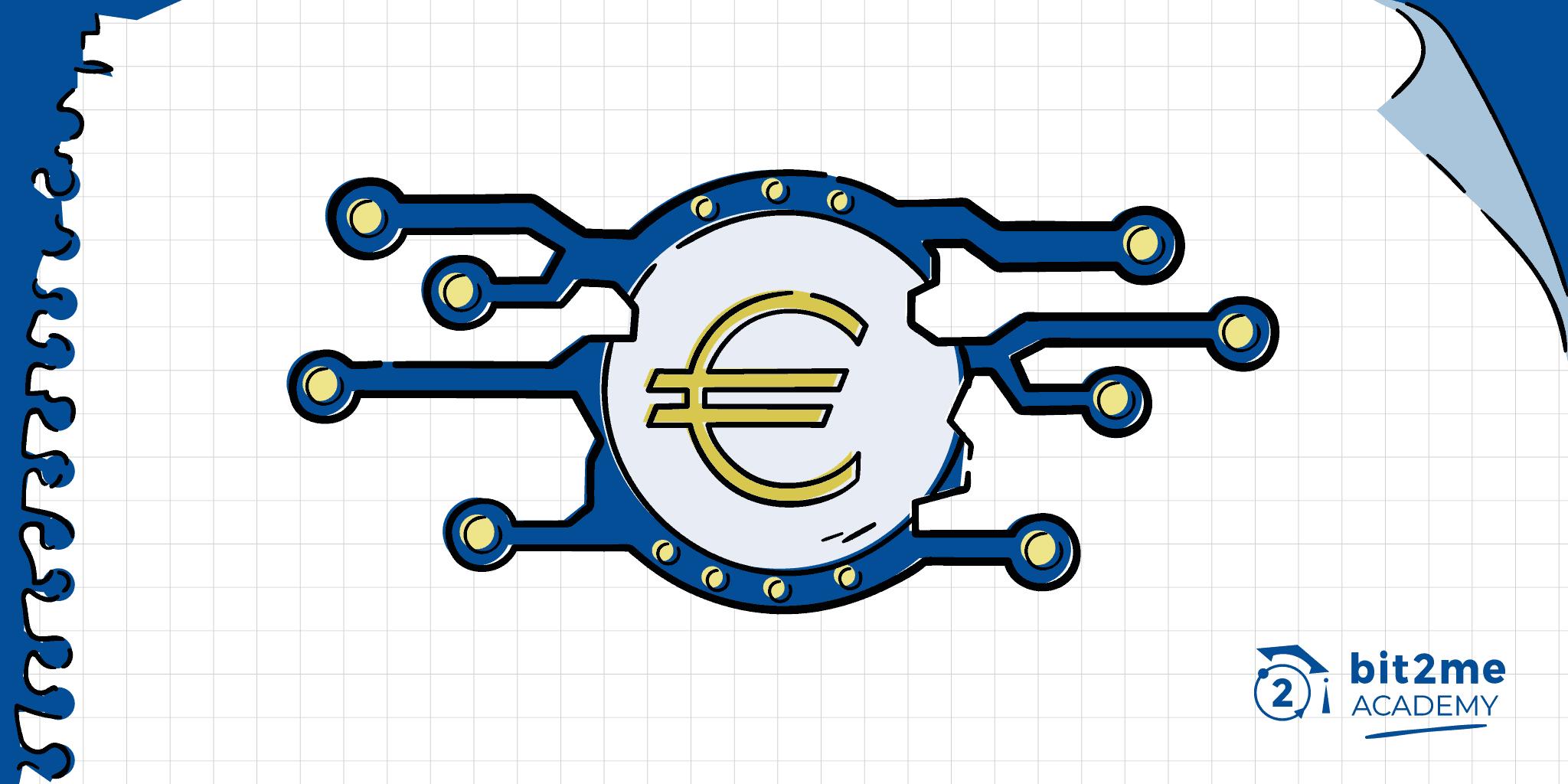 que es criptoeuro, euro digital, criptoeuro