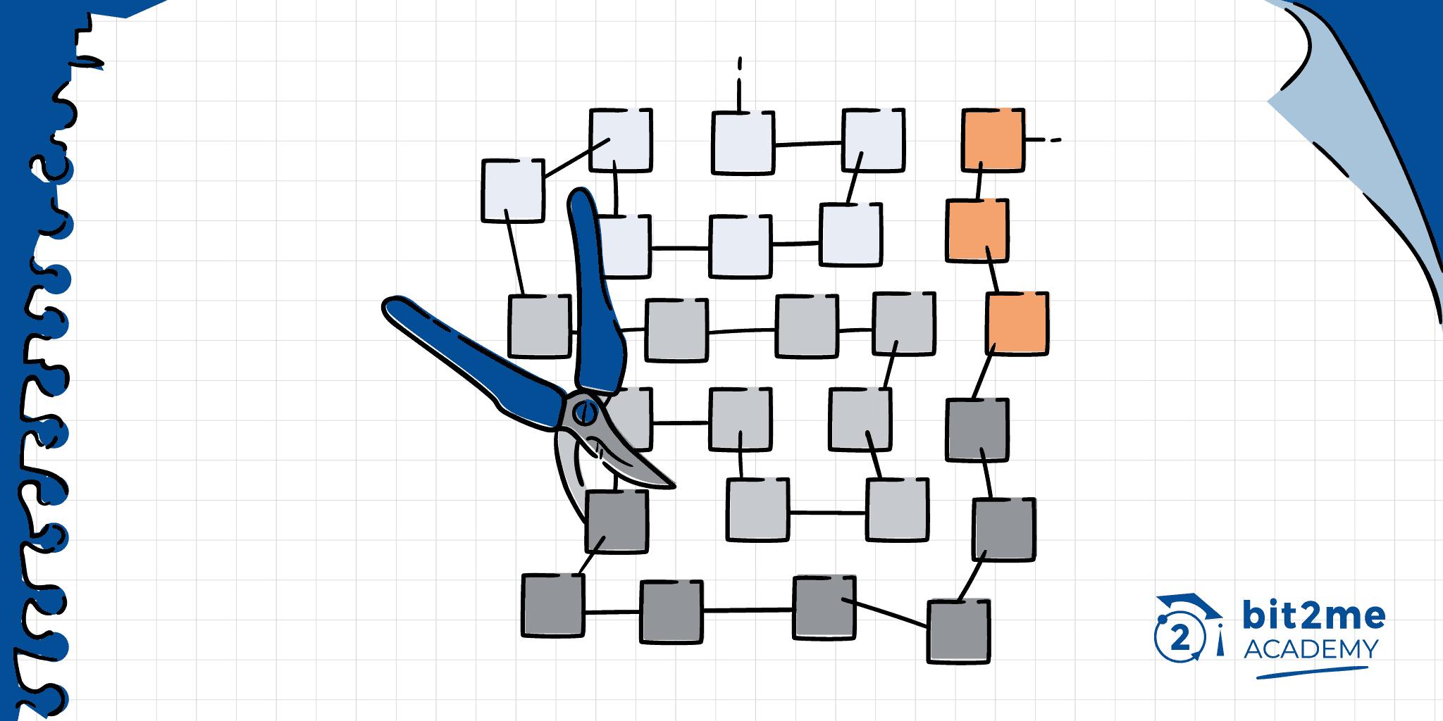 que es nodo podado, que es pruned node, nodo podado blockchain