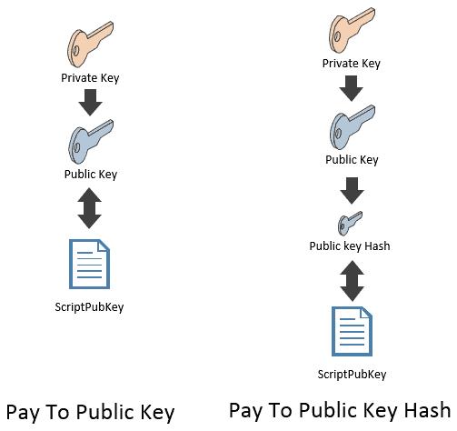 P2PK vs P2PKH