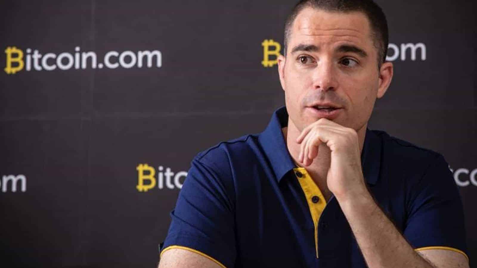 Roger Ver in a presentation of Bitcoin Cash and Bitcoin.com