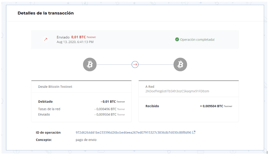 Tutorial su come inviare Bitcoin da Wallet a Wallet
