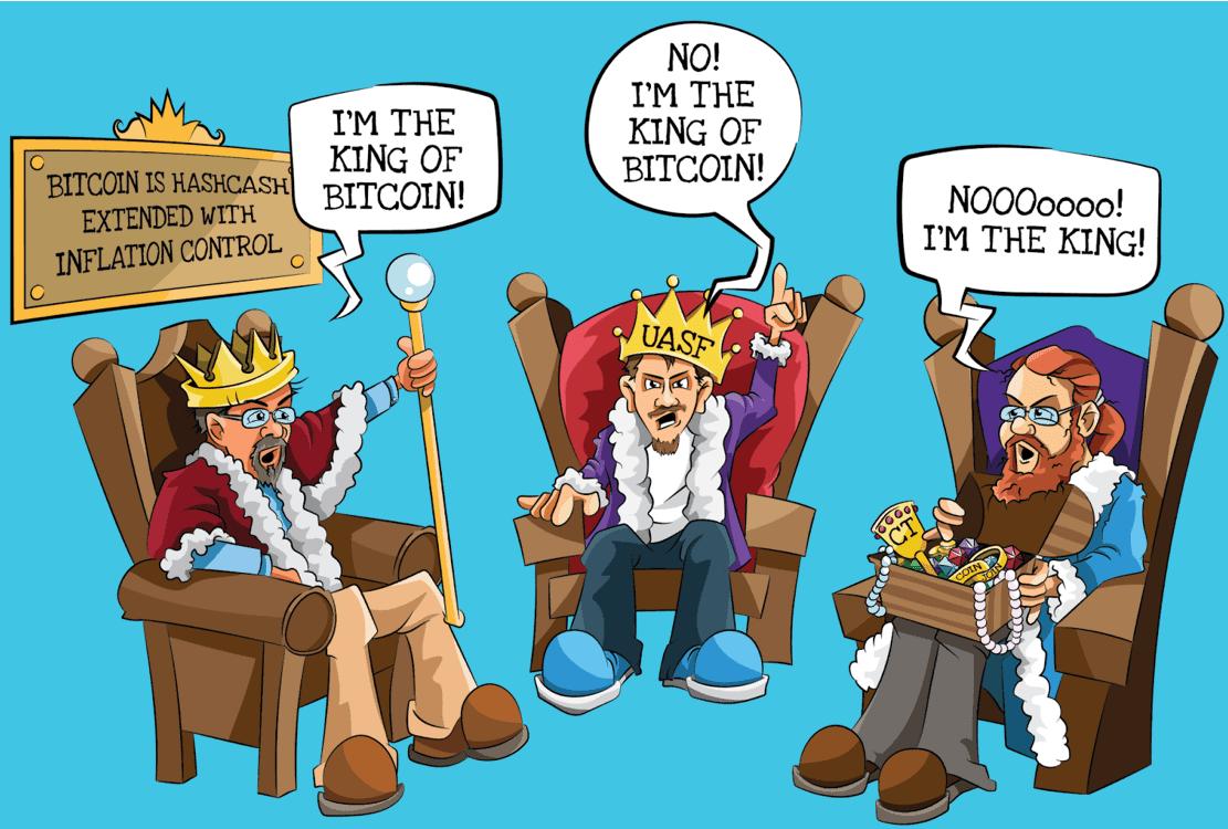 Los reyes de Bitcoin