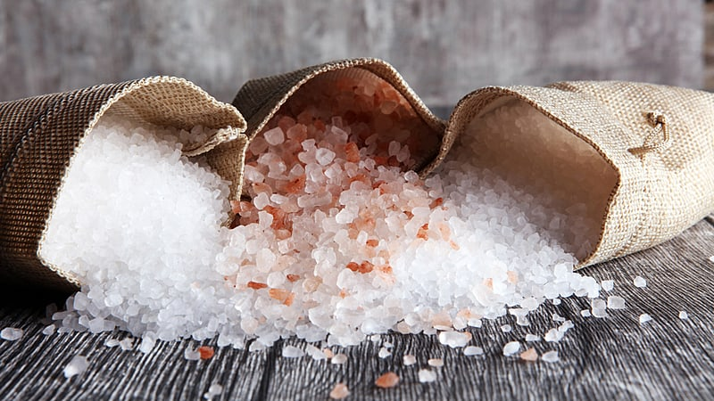Salt, an ancient form of payment, hence the word SALARY