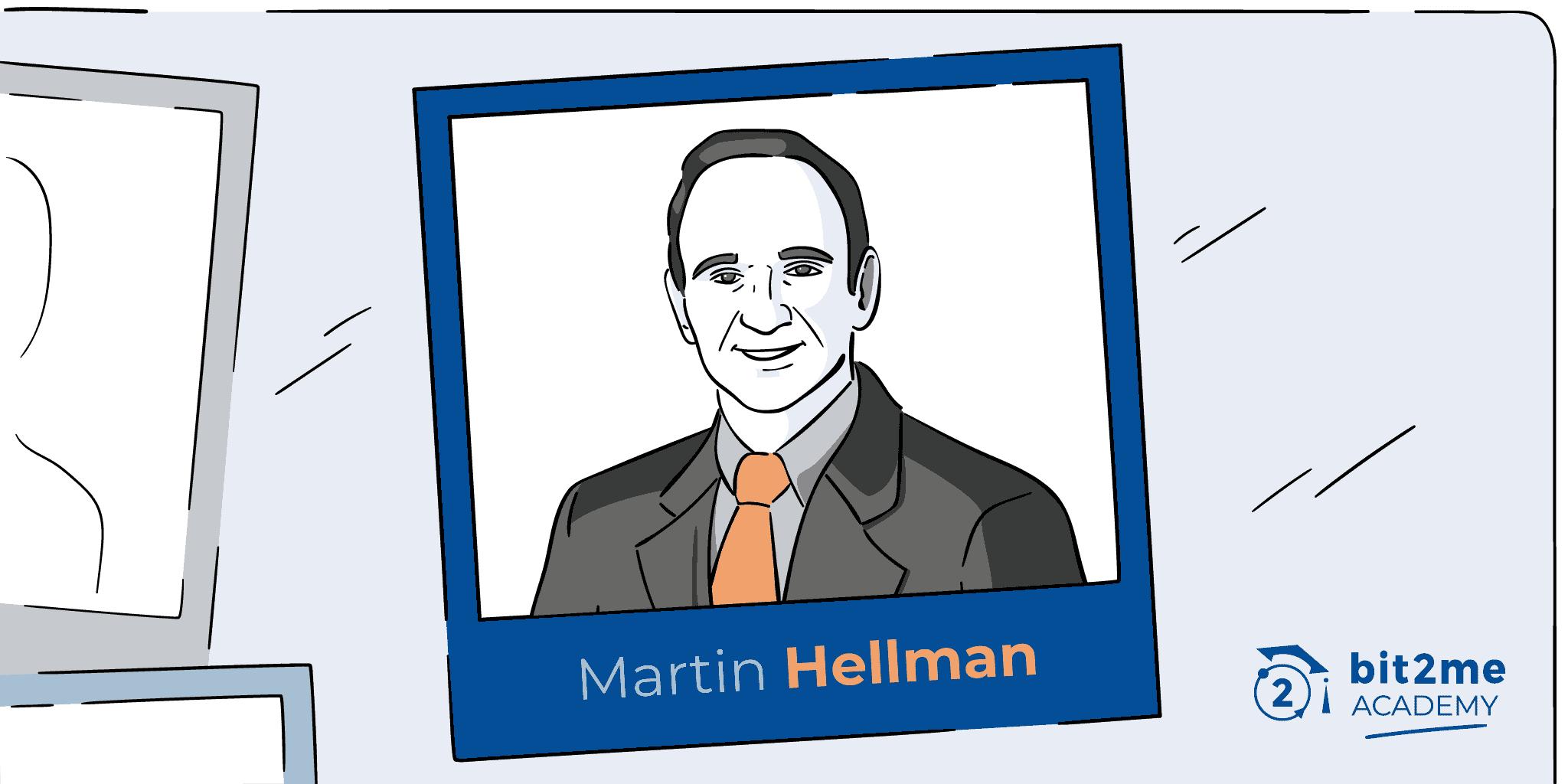 Martin Hellman cripto